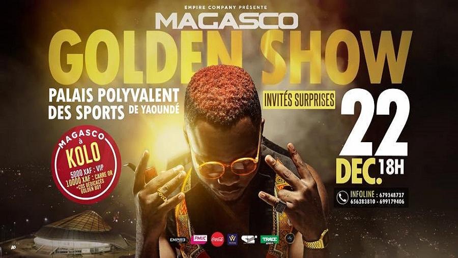 Magasco fera le Palais des Sports de Yaoundé ce 22 décembre