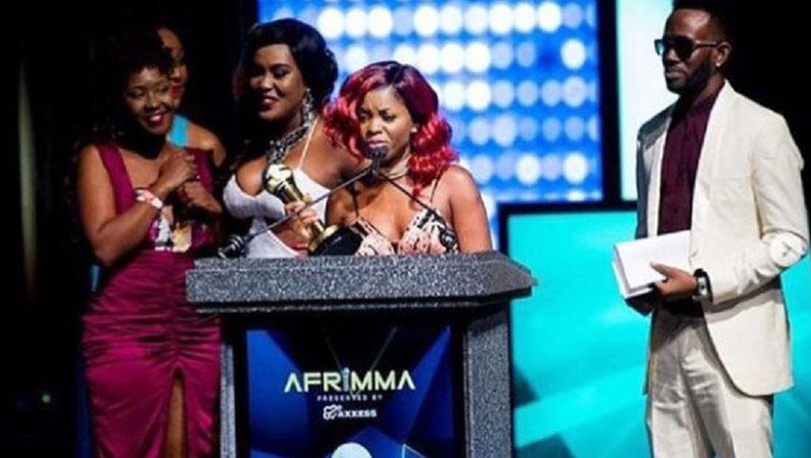 AFIRMA AWARDS : Daphné sacrée meilleure artiste féminine d'Afrique centrale.