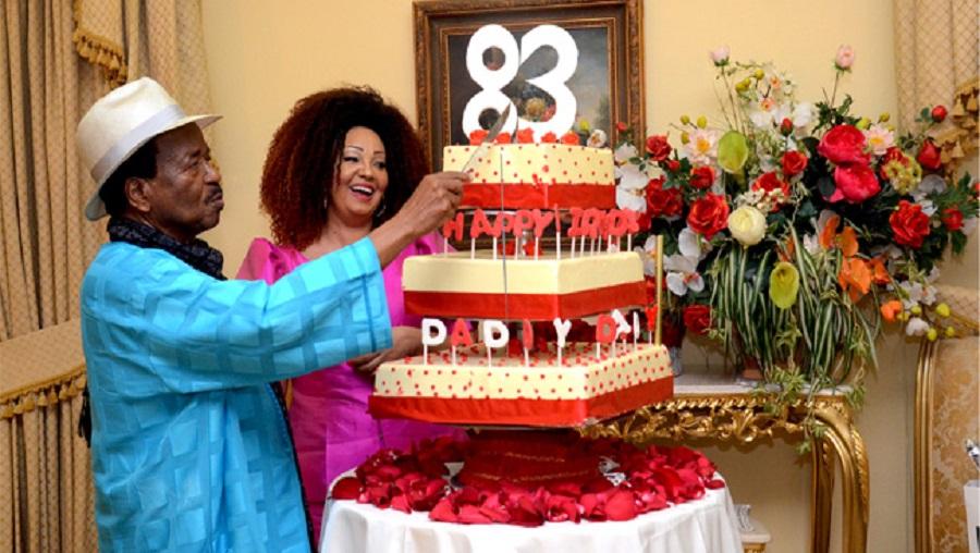 Top : Les  6 derniers gâteaux d' anniversaire de Paul Biya