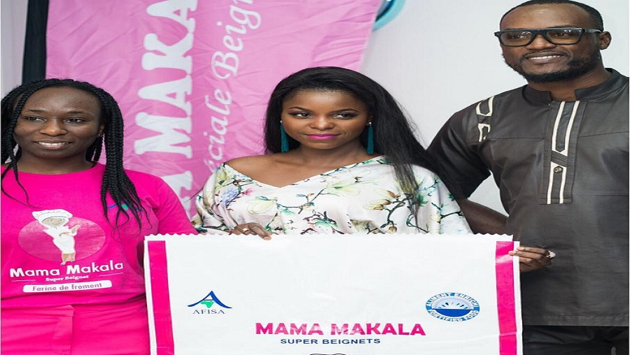 Daphne désormais ambassadrice de «Mama Makala»