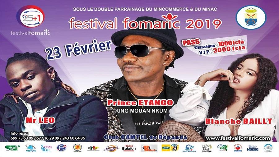 Vos stars préférées au Festival Fomaric le 23 février