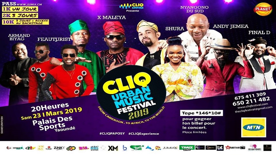 Une panoplie d'artistes en concert ce 23 mars au Palais des sports de Yaoundé