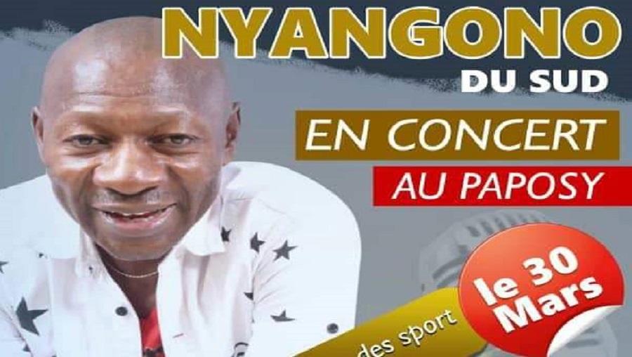 Nyangono du Sud au Palais des sports ce 30 mars