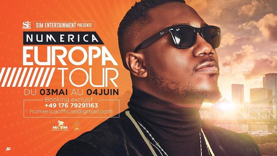 Numerica annonce sa première tournée européenne