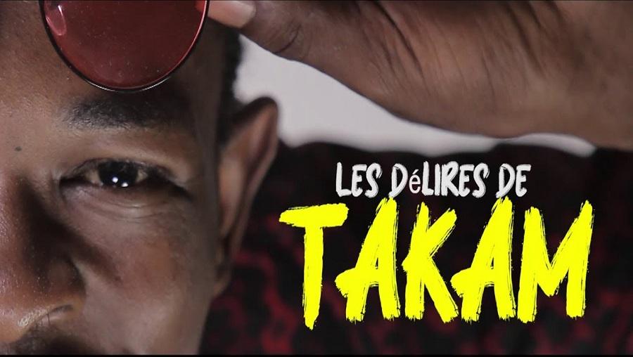 «Les délires de TAKAM», le nouveau rendez-vous du rire sur YouTube