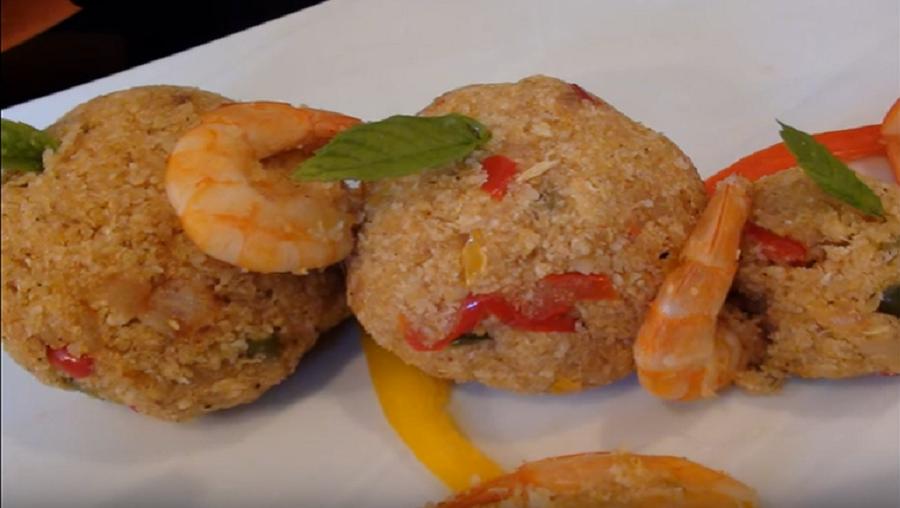 Recette : Tapioca sauté aux crevettes fraiches