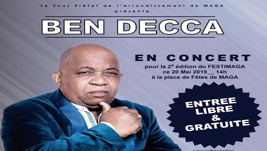 Ben Decca en concert gratuit à l'extrême-Nord