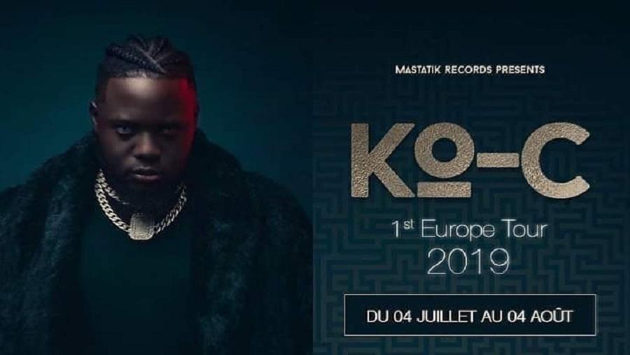 Concert : Ko-c annonce sa première tournée en Europe