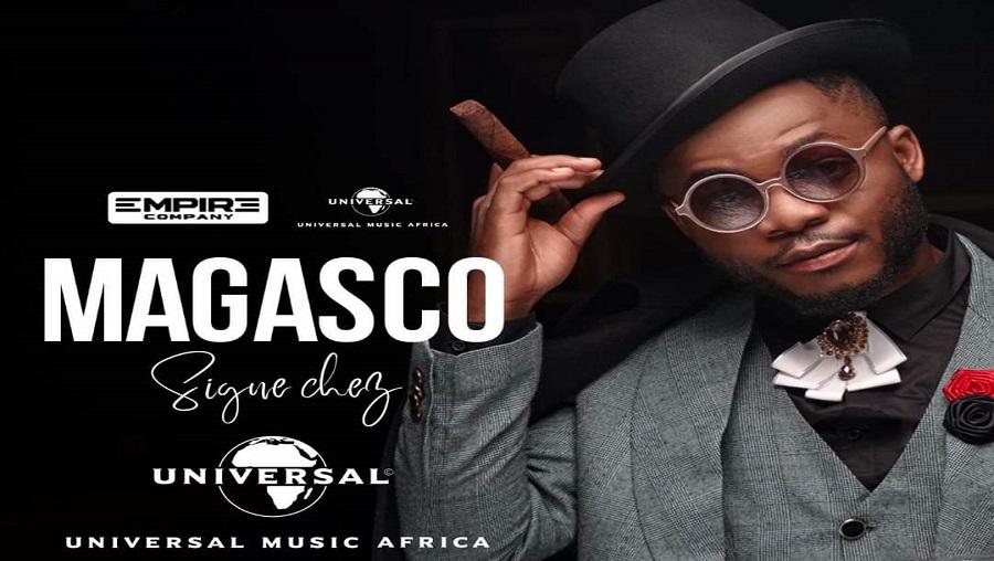 Magasco : » Je n'ai signé aucun contrat avec Universal Music Africa»