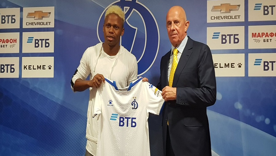 Football : Clinton Njie rejoint le Dynamo Moscou