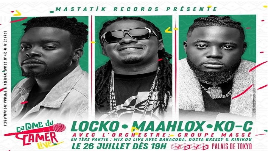 Locko, Ko-c et Maahloox en concert à Paris