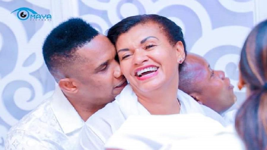 Samuel Eto'o et Georgette très amoureux au Bénin (Photos)
