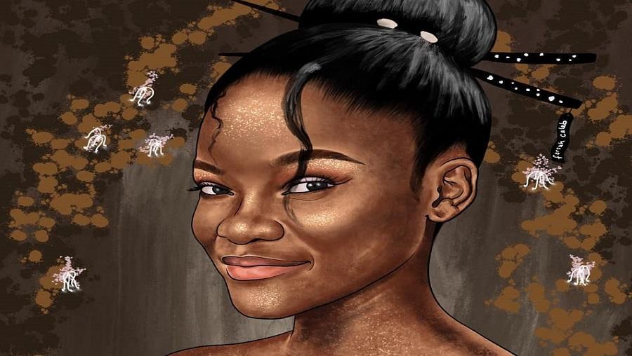 A la découverte du dessinateur portraitiste Forsuh Caleb Akongnue