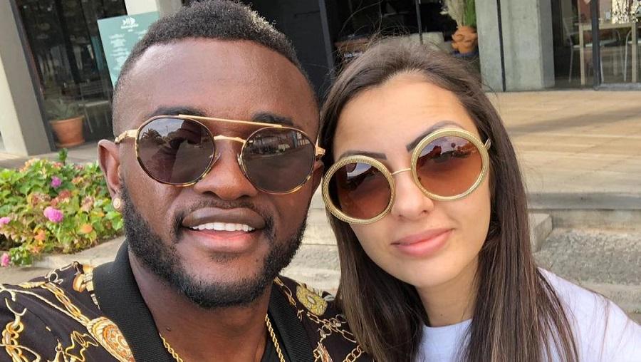 Carnet rose : le footballeur Joël Tagueu et Jessica se marient (photos)