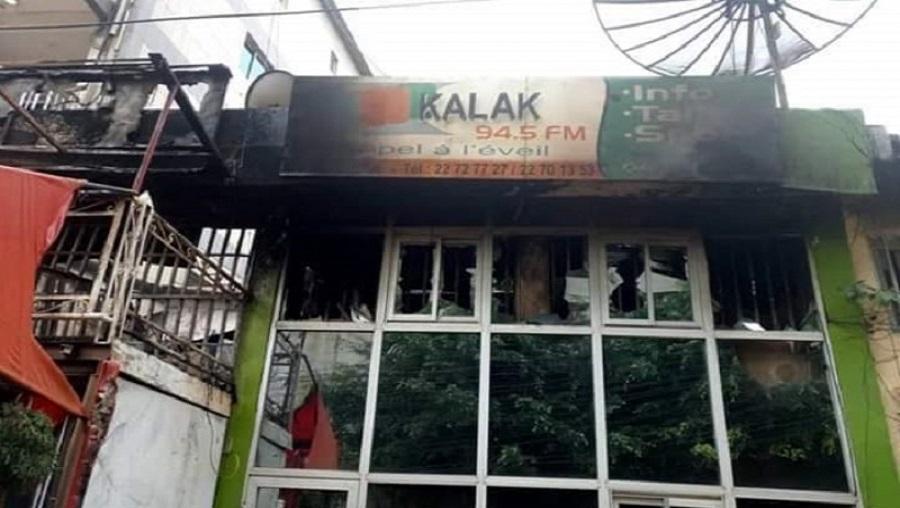 La radio Kalak Fm en cendres, les artistes se mobilisent pour reconstruire