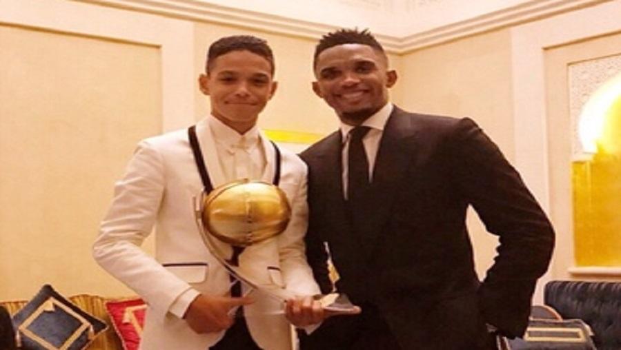 Football: Le fils de Samuel Eto'o bientôt chez les U17
