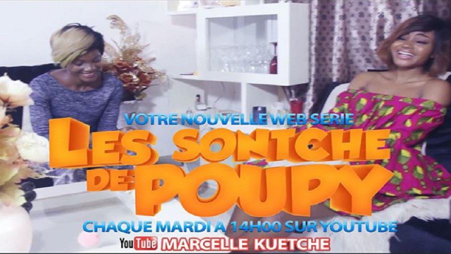 «Les sontche de poupy»: Quand Marcelle Kuetche lance sa web série en solo