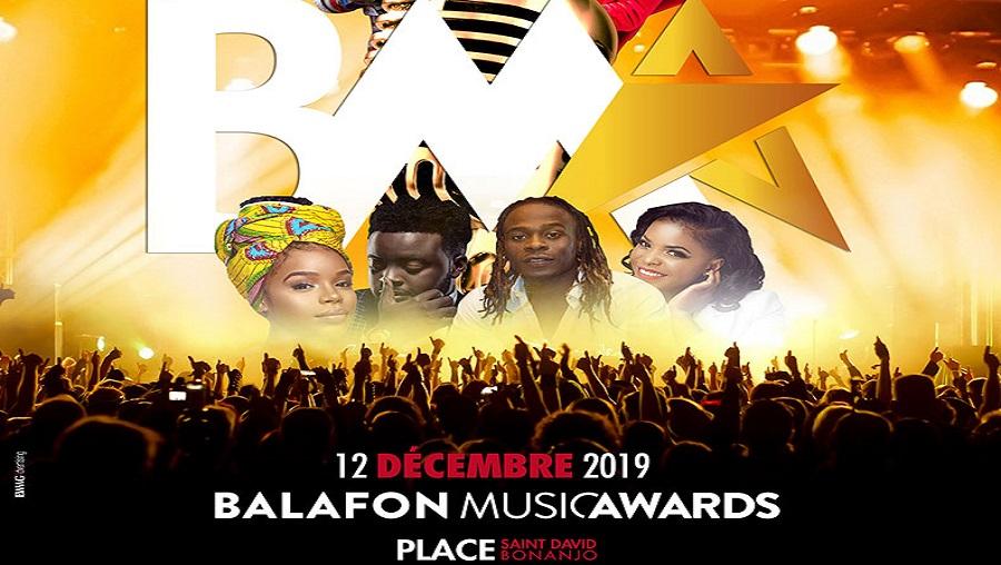 Les Balafon Music Awards c'est ce 12 décembre 2019 à Douala