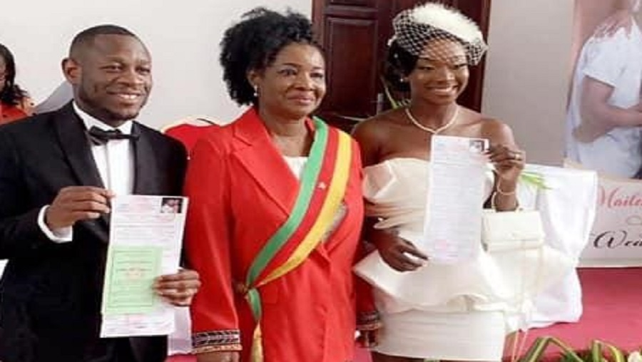 Mariage: Le Footballeur Christian Bassogog a dit «oui»