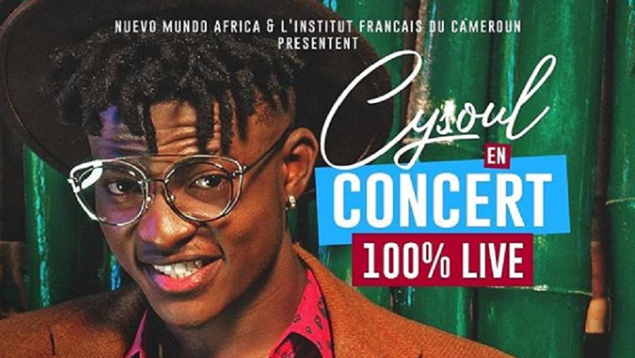 Cysoul en concert live à Yaoundé et à Douala
