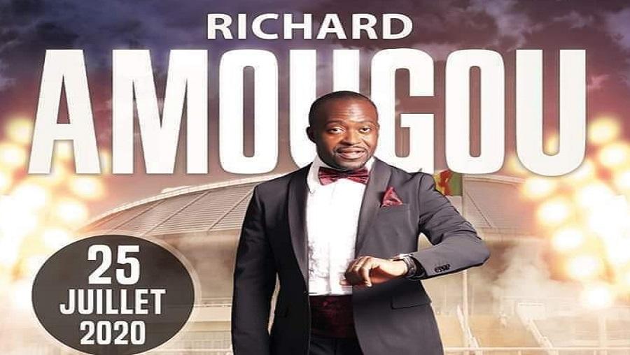 Richard Amougou sera en concert au PAPOSY le 25 juillet 2020