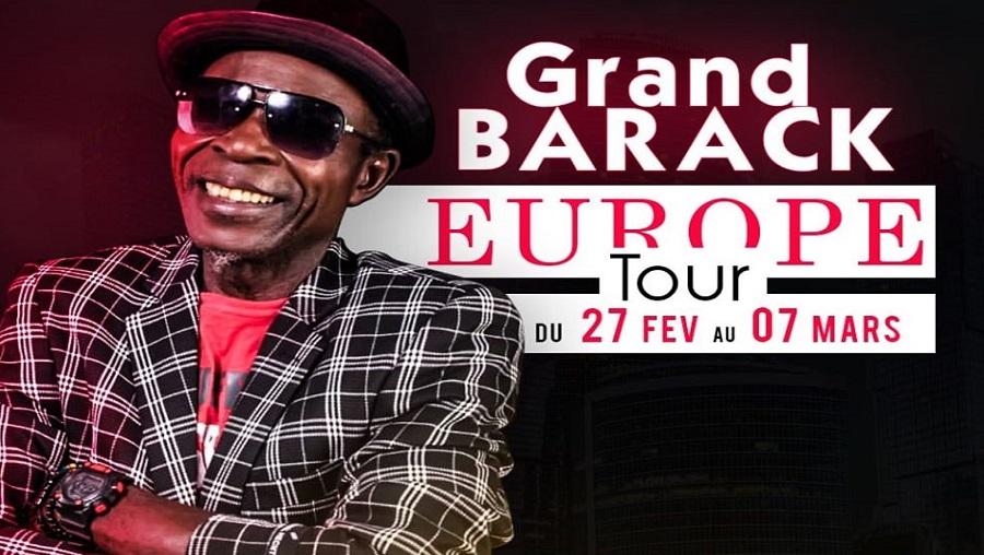 Grand Barack en tournée européenne dès ce 27 février
