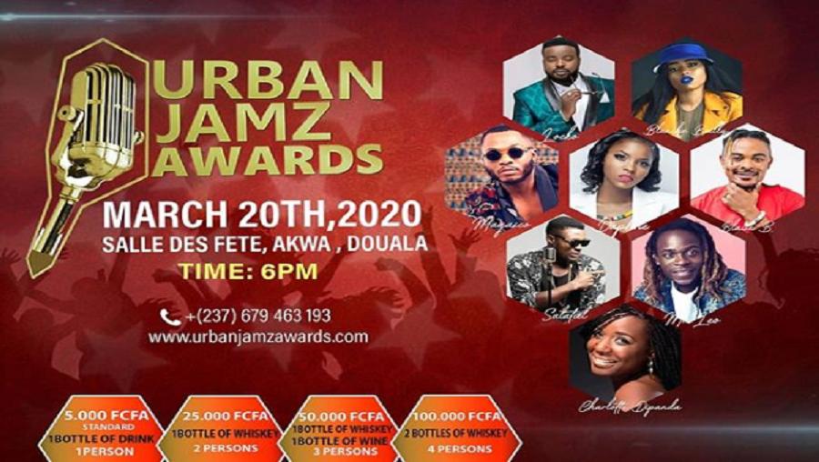 A cause du Corona virus, les Urban Jamz Awards sont reportés