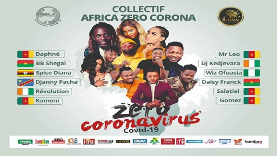 Musique: Le collectif d'artistes «Africa Zéro Corona» vient de voir le jour