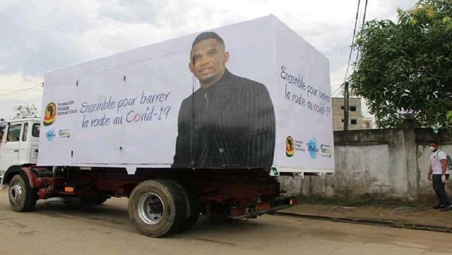 La caravane de la fondation Samuel Eto'o poursuit les dons à Yaoundé et Buéa