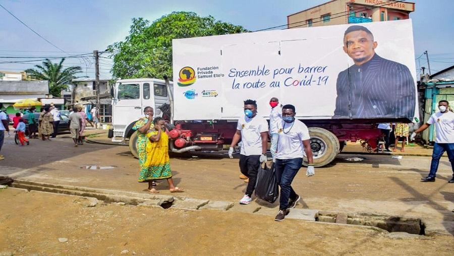 Distribution des dons: Des membres de la fondation de Samuel Eto'o agressés