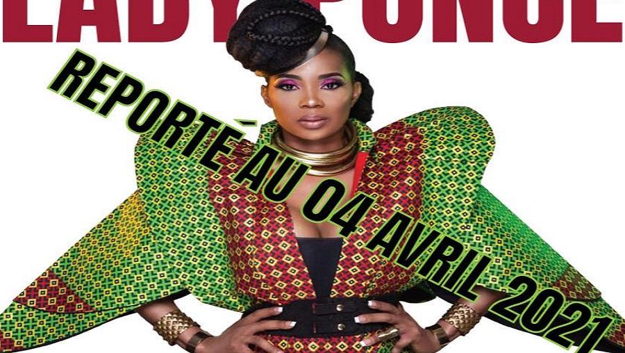Le concert de Lady Ponce à Paris encore renvoyé
