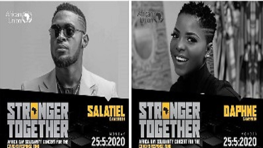 Salatiel et Daphné représentent le Cameroun pour la journée de l'Afrique 2020