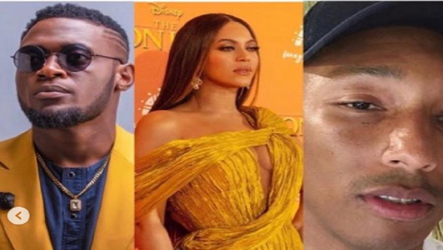 Salatiel représente fièrement le Cameroun dans le clip «Water» de Beyoncé