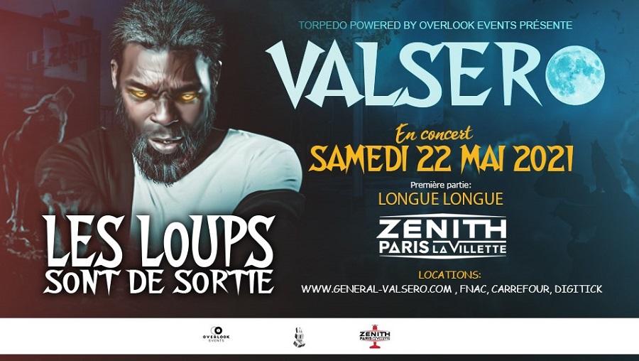 Le Général Valsero en concert au Zénith de Paris le 22 mai 2021