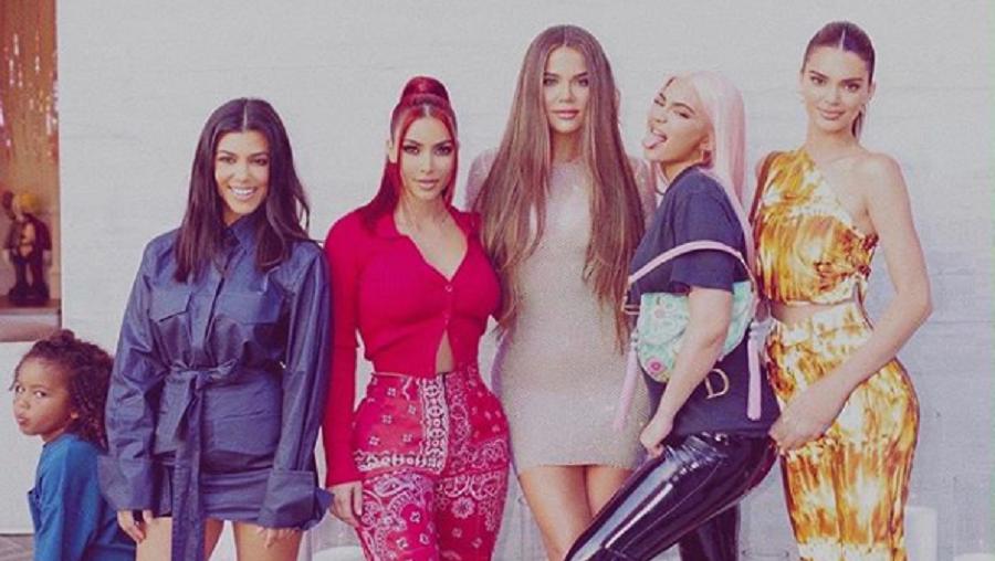 Kim kardashian annonce la fin de l'émission «l'incroyable famille Kardashian»