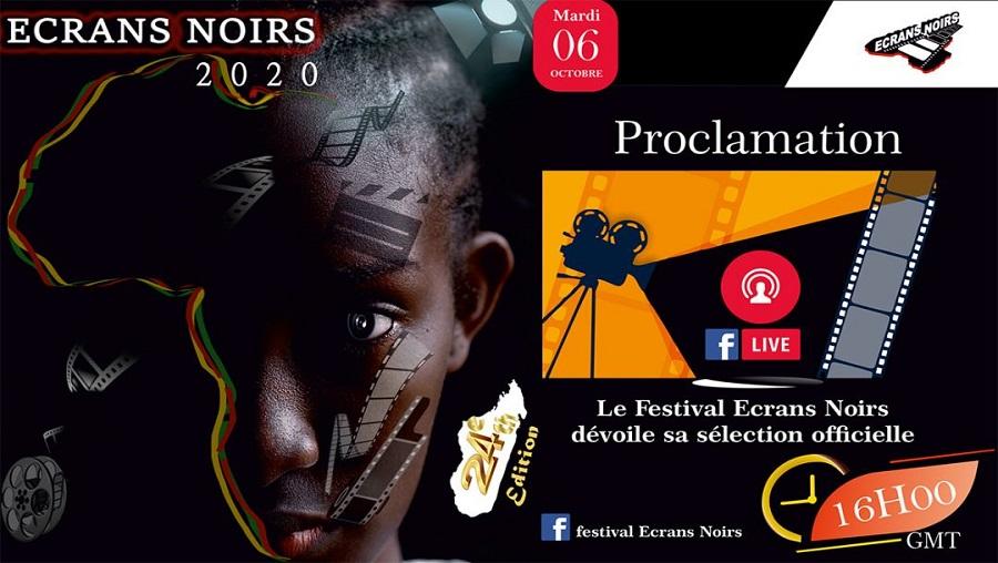Le festival des écrans noirs dévoilent les nominés de l'édition 2020
