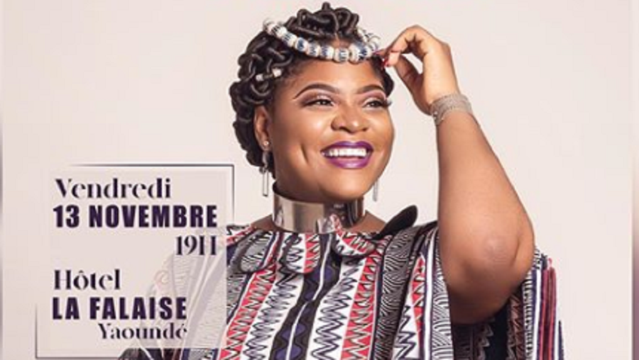 Sandrine Nnanga en concert solo ce 13 novembre pour la sortie de son 1er album