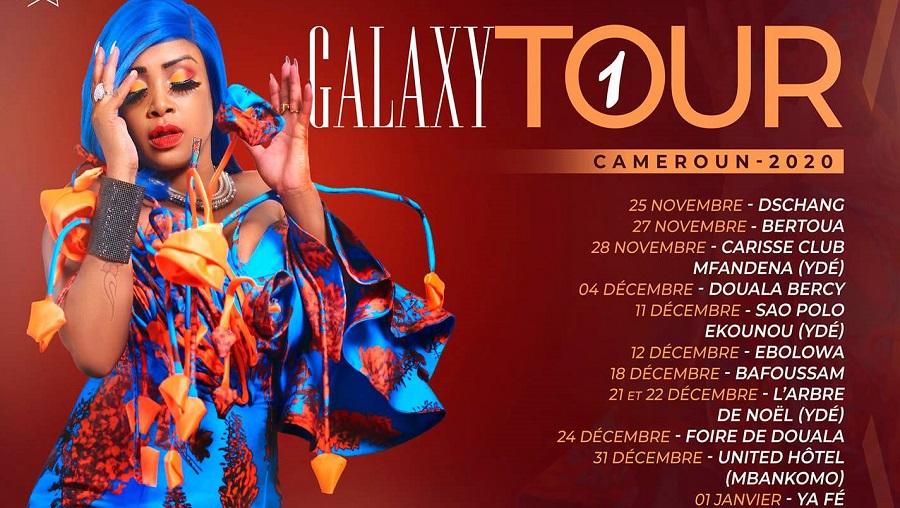 Coco Argentée en tournée nationale entre novembre 2020 et janvier 2021