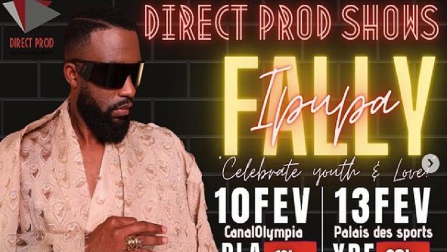 Fally Ipupa en concert à Douala et Yaoundé en février 2021