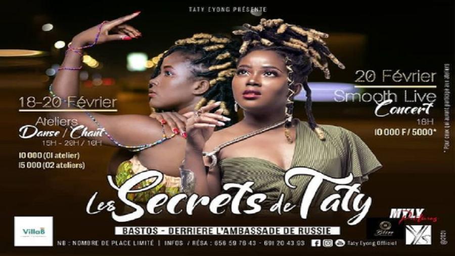 Musique – Danse : Découvrez « les secrets de Taty Eyong »