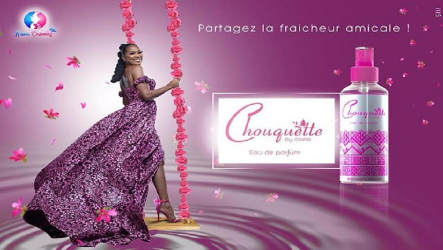 Osiera Mebounou présente sa marque de parfum 100% made in Cameroon