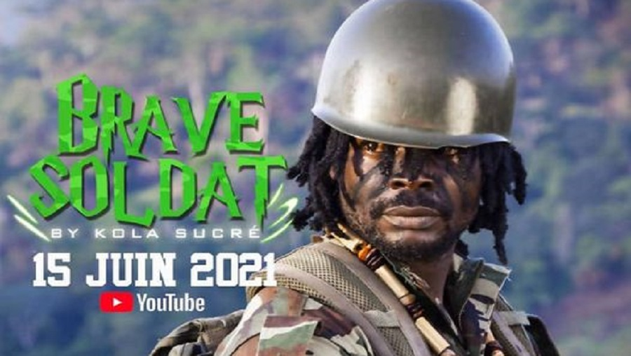 Kola sucré présente son premier single «Brave soldat»