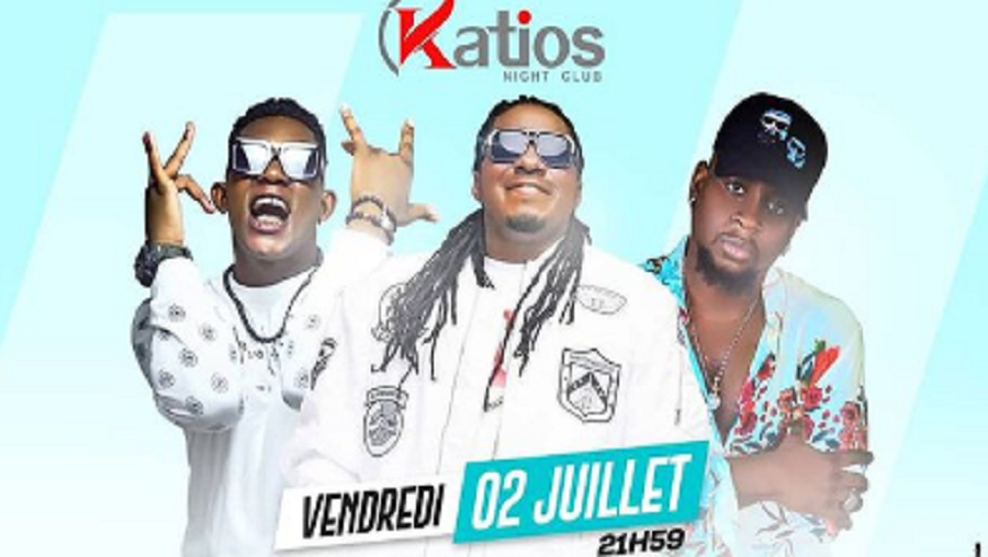 Maahlox, Tenor et Mink's en showcase au Katios ce 02 juillet 2021