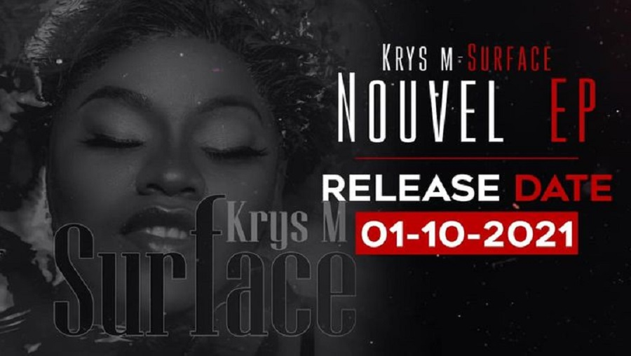 Krys M présente son tout premier E.P. intitulé «surface»