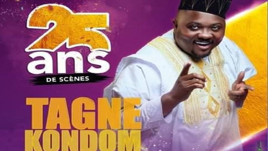Tagne Kondom célèbre ses 25 ans de carrière